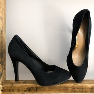 Jessica Simpson Suede Heels - Size 8